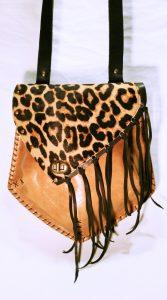 patrón para bolso de cuero